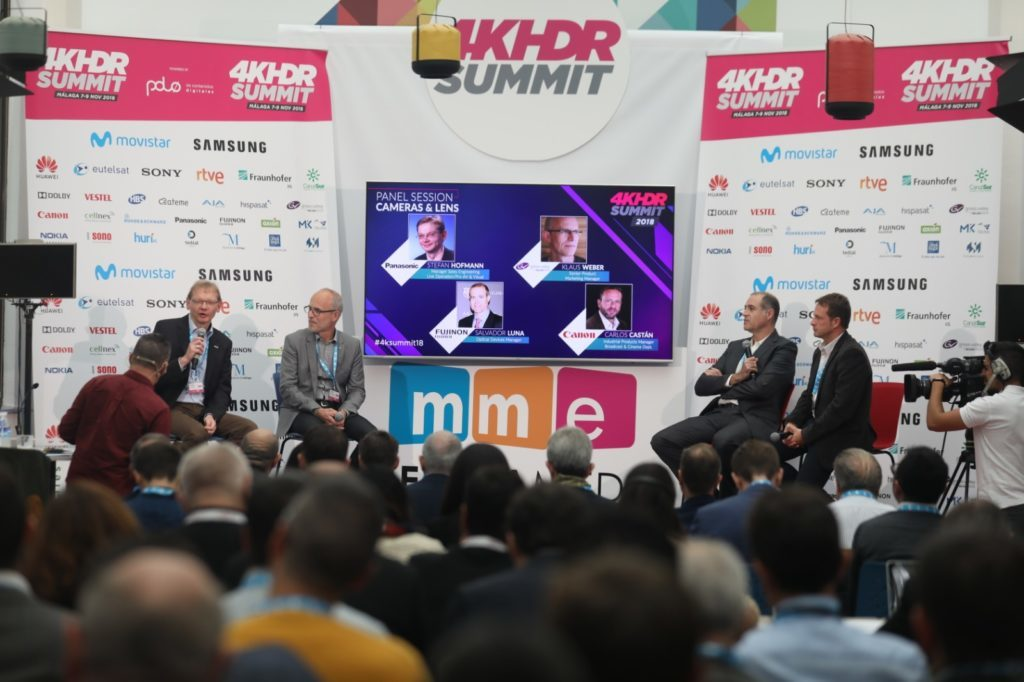 Broadcasts of major sport events and the latest 4K solutions at